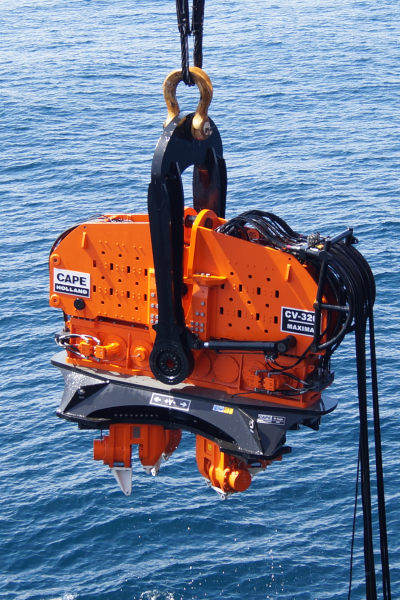 marine offshore, hydrauhammer, Cape Holland